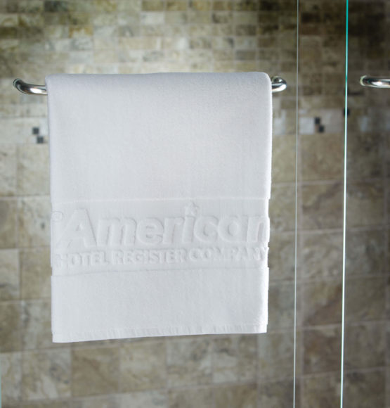 Custom Woven Monogram Towels