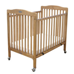 LA BABY® Little Wood Crib