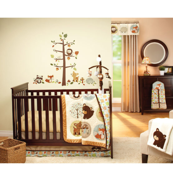 Carters® Friends Collection 4-Piece Infant Bedding Set