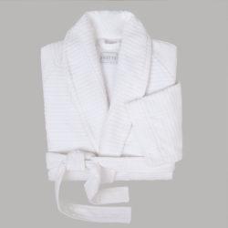 Agata Jacquard Velour Robe