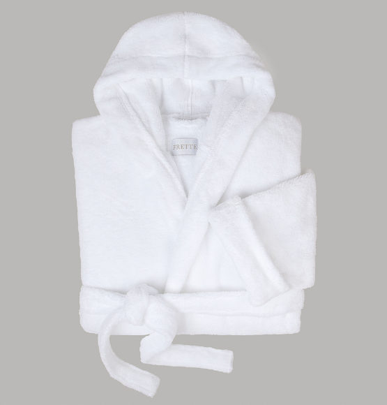 Fluffy Hooded Robe