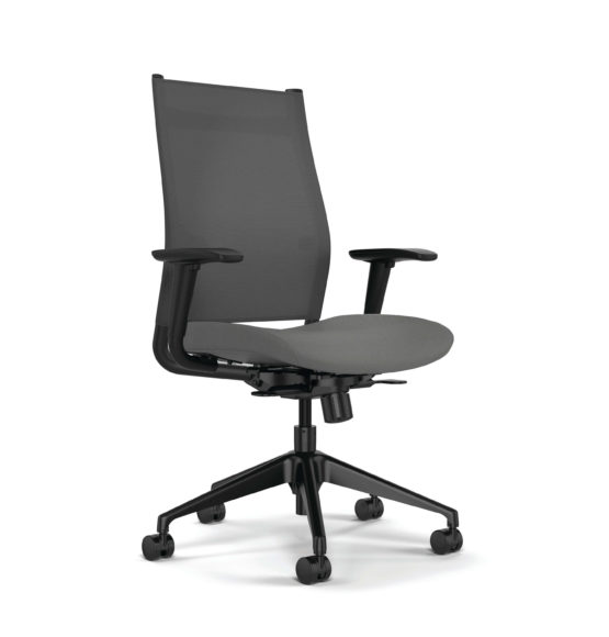 Wit Mesh-Back Chair by SitOnIt Seating