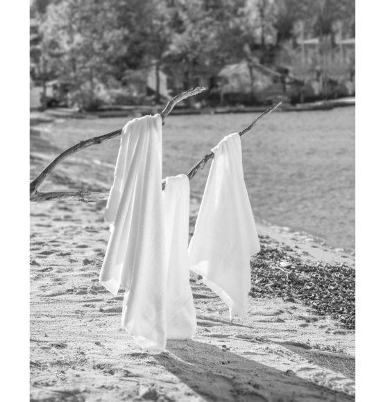 GreenThreads-Dobby Border Towels